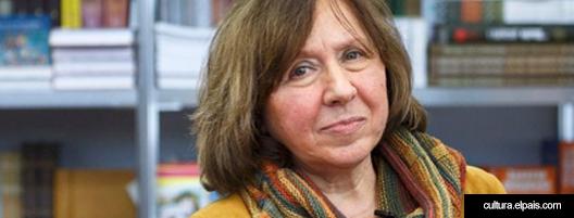 La necesidad libetad de esclavitud o de como Svetlana Alexievich lee el mundo que le quedo