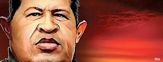 Hugo Chavez y el culto a Bolivar
